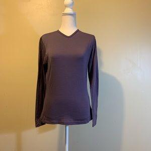 Smartwool Medium purple Merino Wool base layer